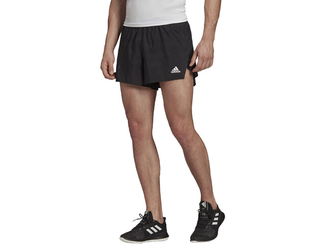 adidas Speed Split Shorts Heren, black/white